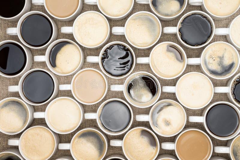Kaffeesoldaten stockfoto