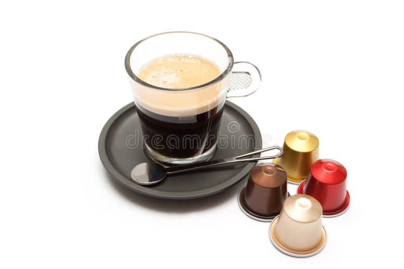 Kaffeespresso royaltyfria bilder