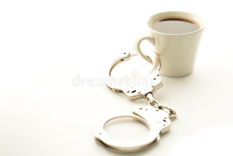 Kaffeesucht stockfotos