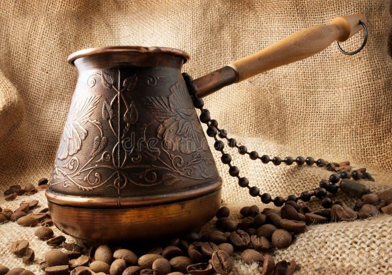 Kaffeetürke. lizenzfreies stockbild