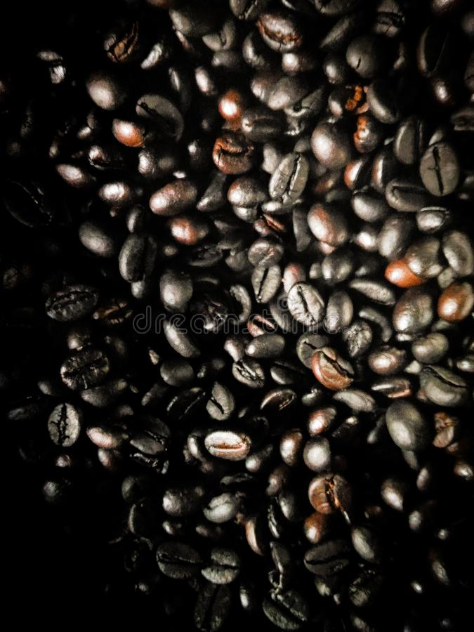 Kaffeetapete lizenzfreies stockfoto