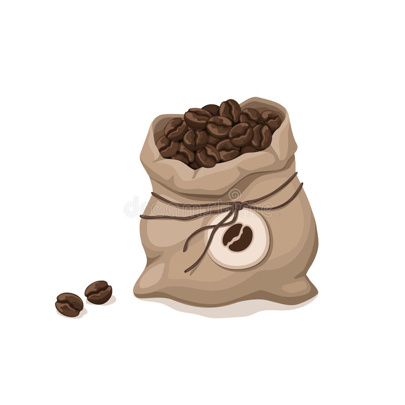 Kaffeetaschenikone stock abbildung