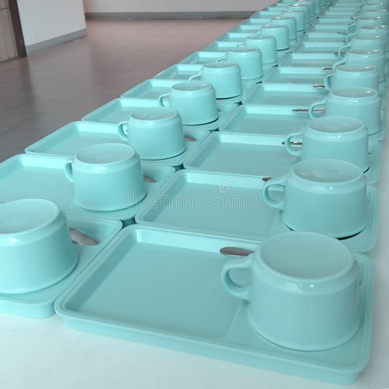 Kaffeetasse auf der Tabelle lizenzfreie stockbilder