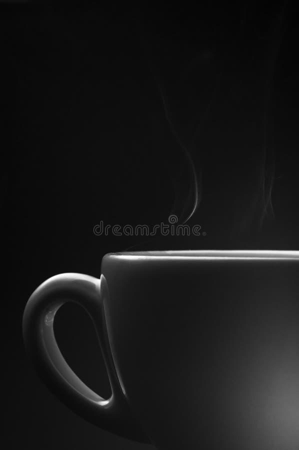Kaffeetasse in BW stockbilder