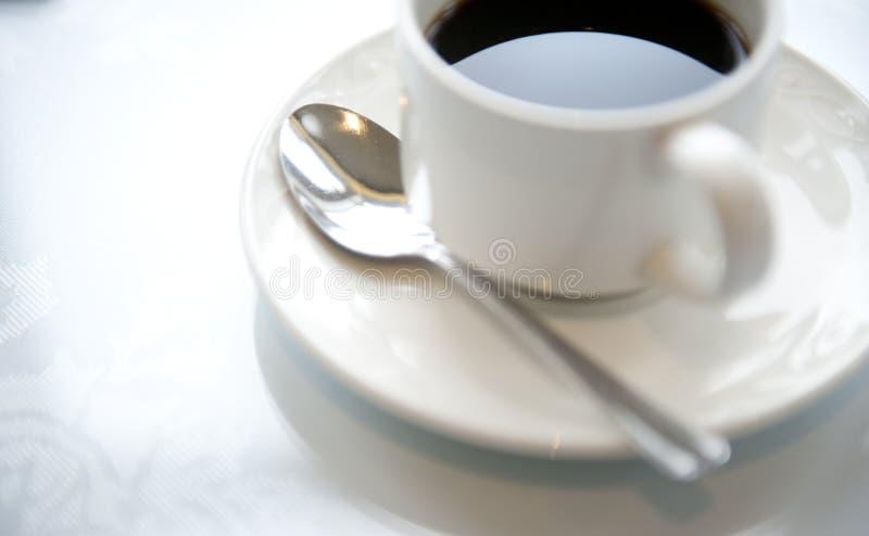 Kaffeetasse und Saucer lizenzfreies stockfoto