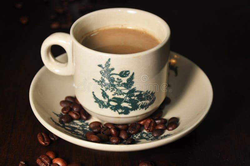 Kaffeetassebohne lizenzfreie stockbilder