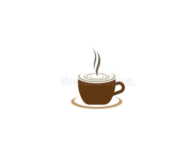 Kaffeevektorillustration stock abbildung