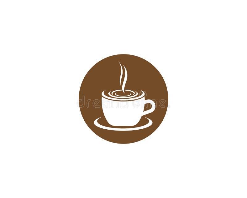 Kaffeevektorillustration lizenzfreie abbildung