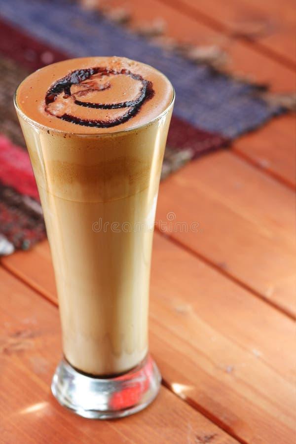 kaffeexponeringsglas royaltyfri fotografi