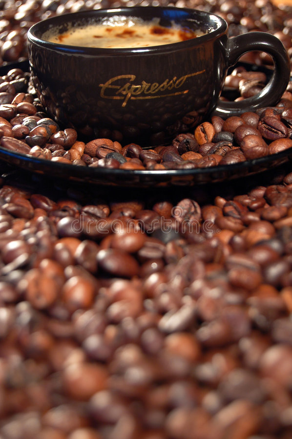 Kaffeezeit 05 lizenzfreies stockbild