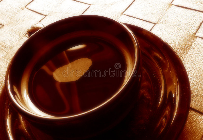 Kaffeezeit stockbild