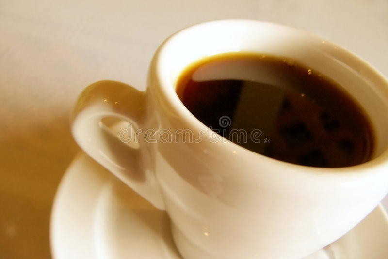 Kaffeezeit stockfoto