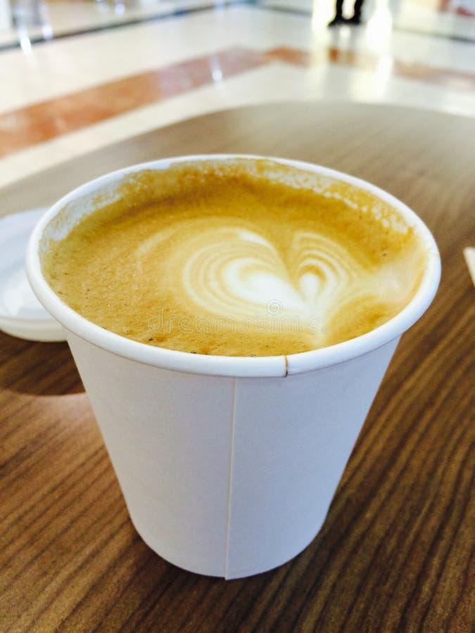 Kaffeezeit allein stockbilder
