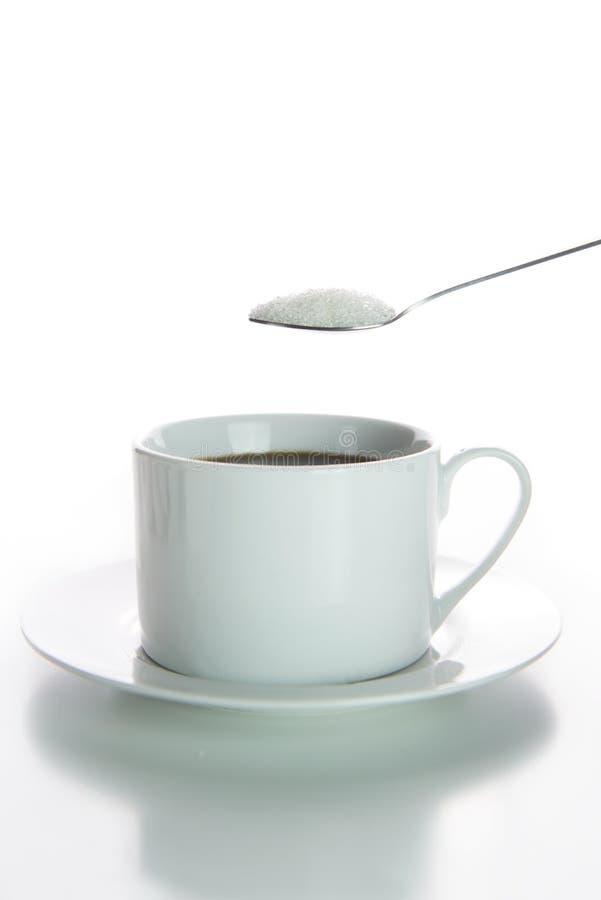 Kaffeezucker lizenzfreie stockfotografie