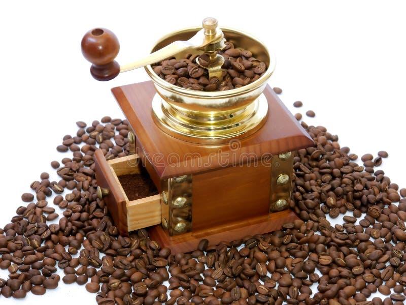 kaffegrinder royaltyfria bilder