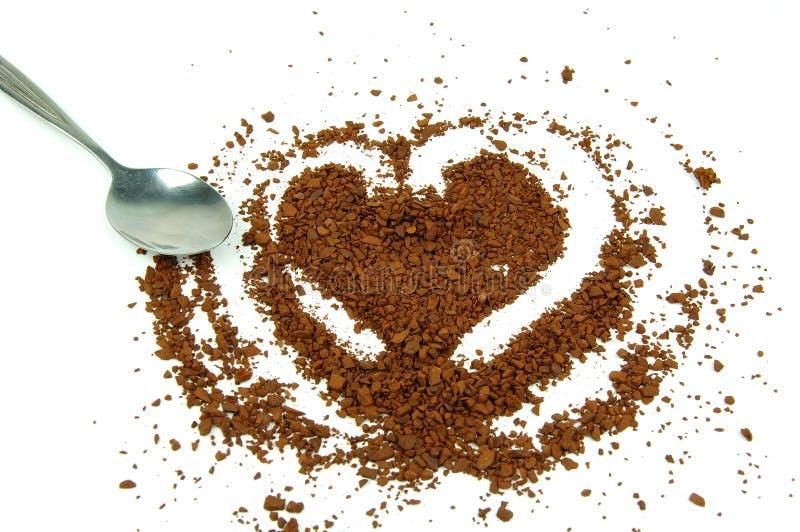 kaffeinstant royaltyfri bild