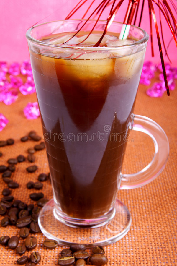 kaffeis royaltyfria foton