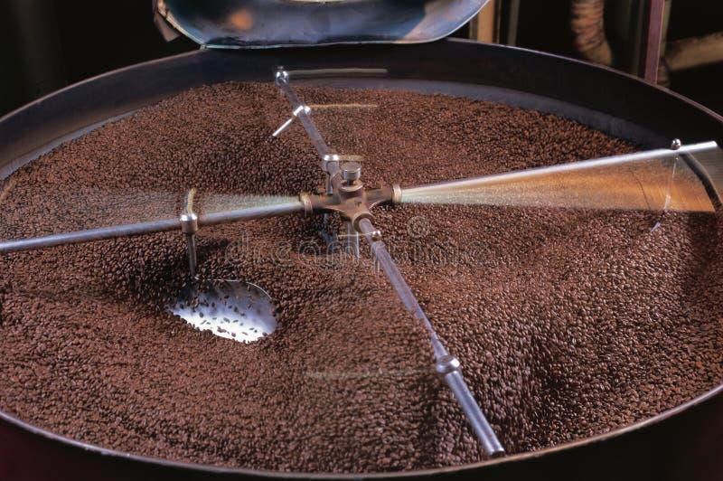 kaffekaffebrännare arkivbild
