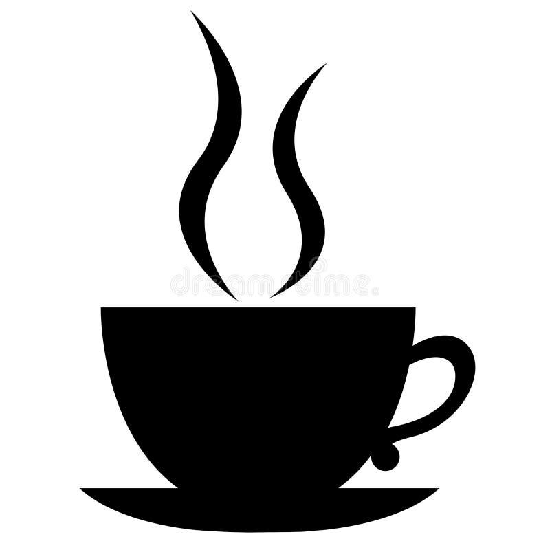 kaffekopp vektor illustrationer