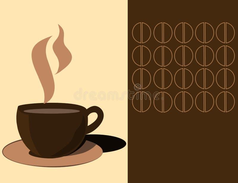 Download Kaffekopp vektor illustrationer. Illustration av gradbeteckning - 27281850