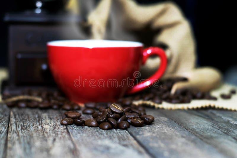 Kaffekopp, espresso arkivbilder