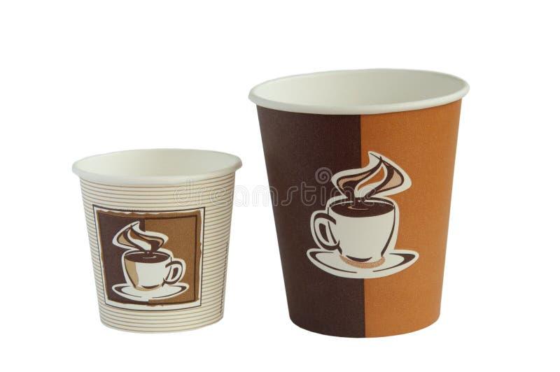 kaffekoppar arkivfoton