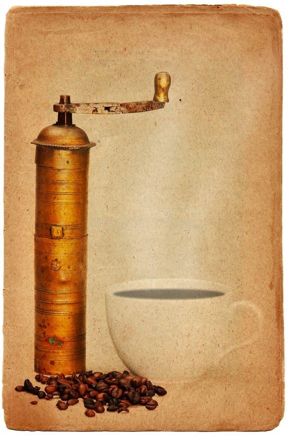 kaffekoppen mal royaltyfri fotografi
