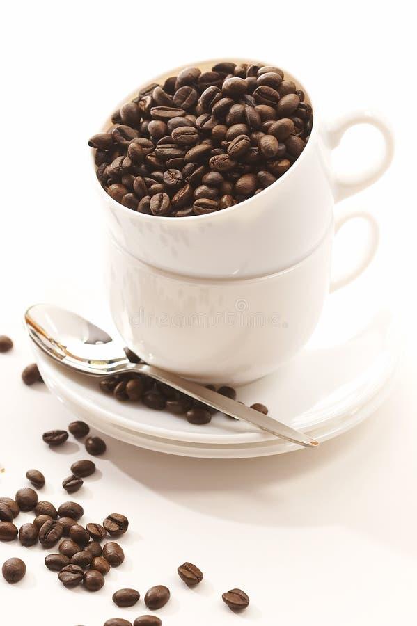 Download Kaffekorn arkivfoto. Bild av morgon, cappuccino, full, anstrykning - 988848