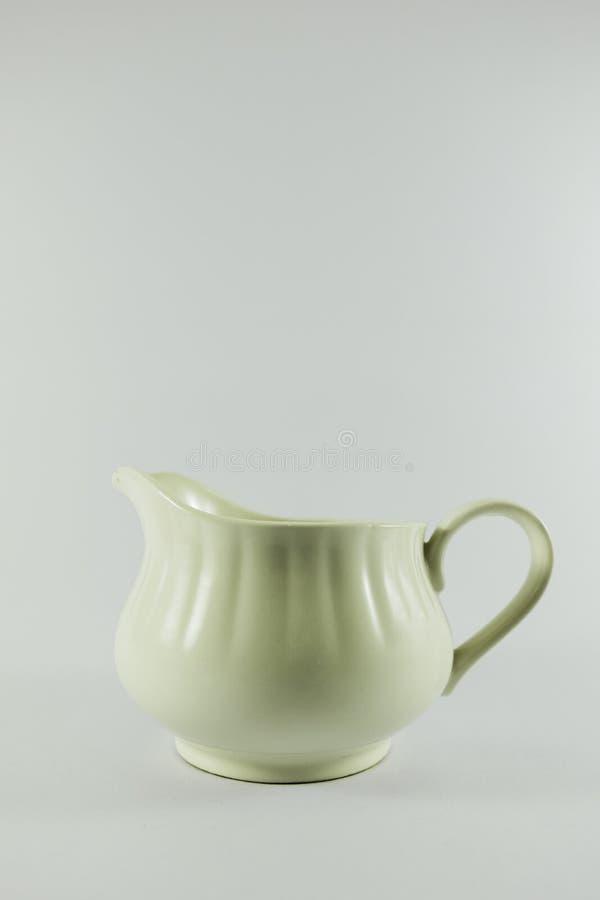 Kaffekruka eller tekruka arkivfoto