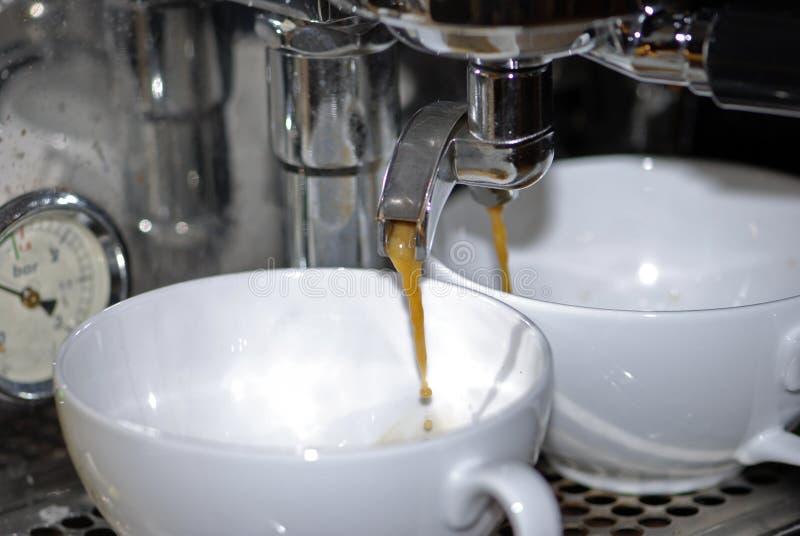 Kaffemaskin arkivfoton