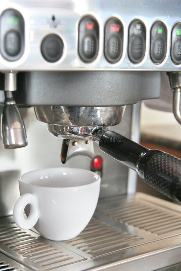 kaffemaskintillverkare royaltyfria bilder