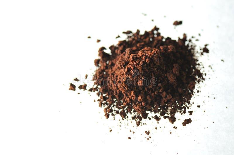 kaffepulver royaltyfria bilder