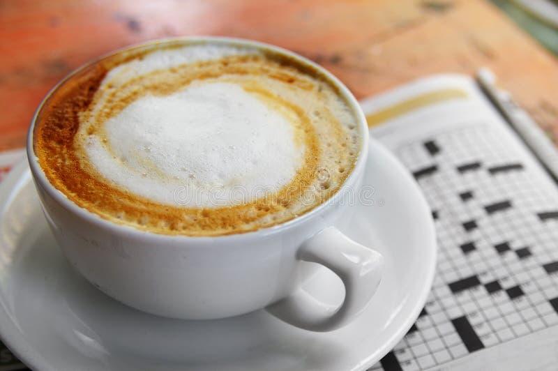 kaffepussel royaltyfria bilder