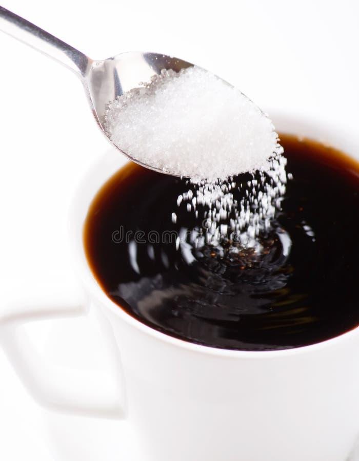 kaffesocker arkivfoto