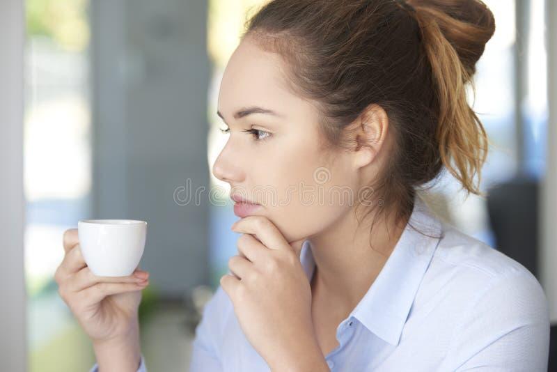 Kaffestöt kontoret royaltyfri fotografi