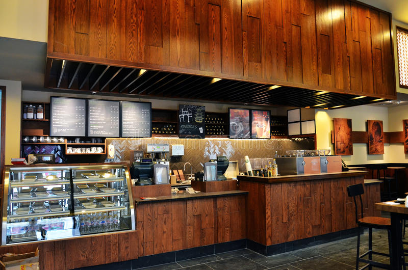 kaffestarbucks fotografering för bildbyråer