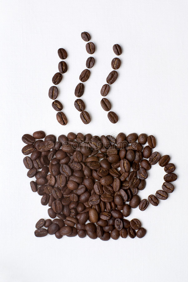 kaffetecken royaltyfri foto