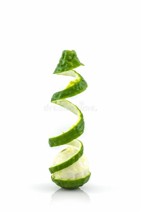 Kaffir Lime (Bergamot). stock images