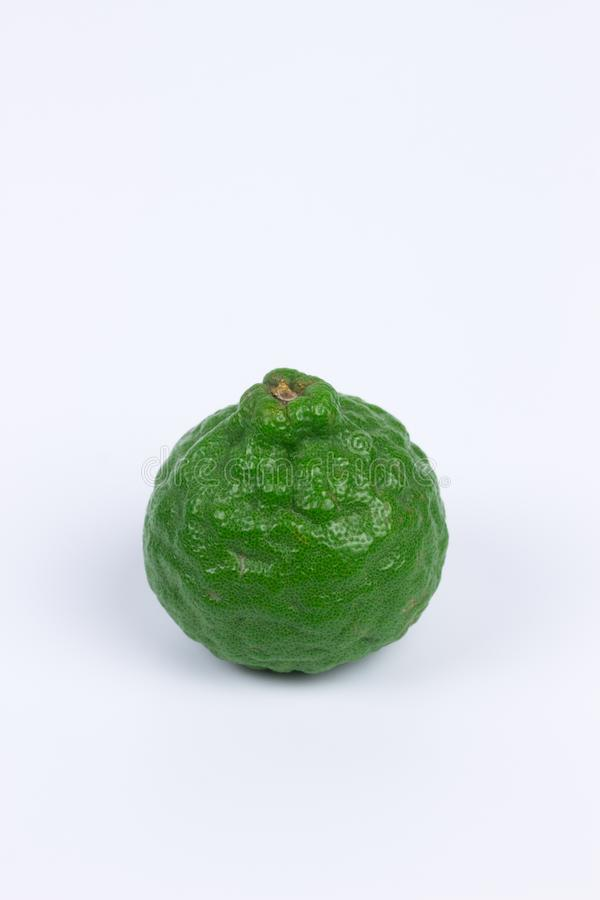 Kaffir Lime in  background royalty free stock photography