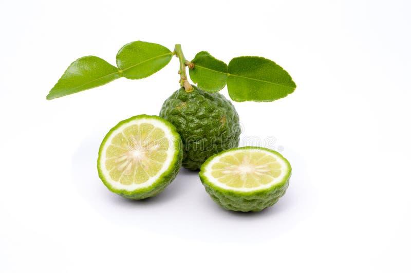 Kaffirlimefrukt royaltyfria foton