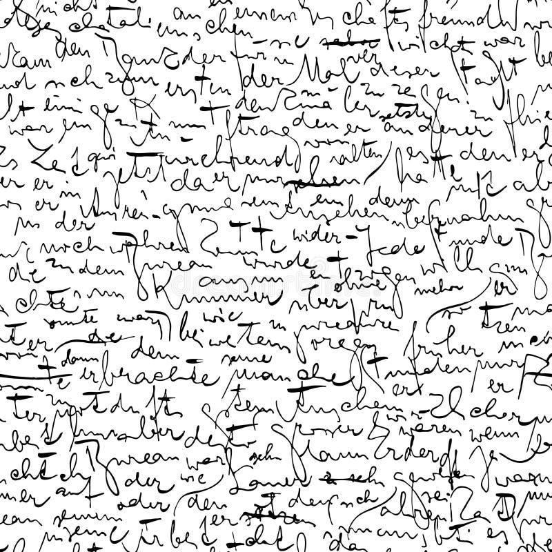 Kafka scribbles royalty free illustration