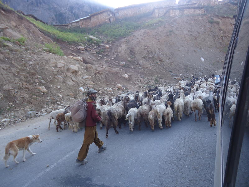 Kaghan Pakistan stockbild