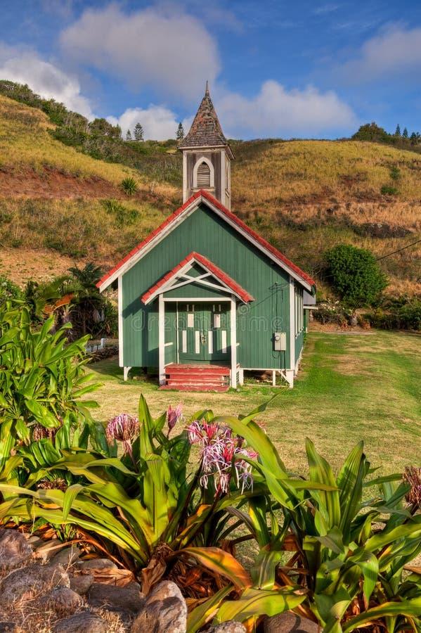 Kahakuloa Kirche stockfotos