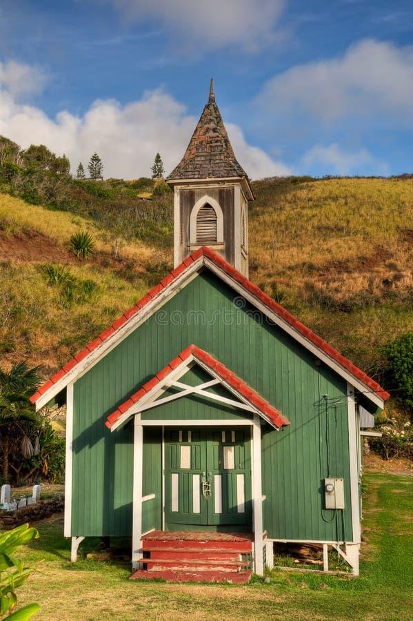 Kahakuloa Kirche stockfoto