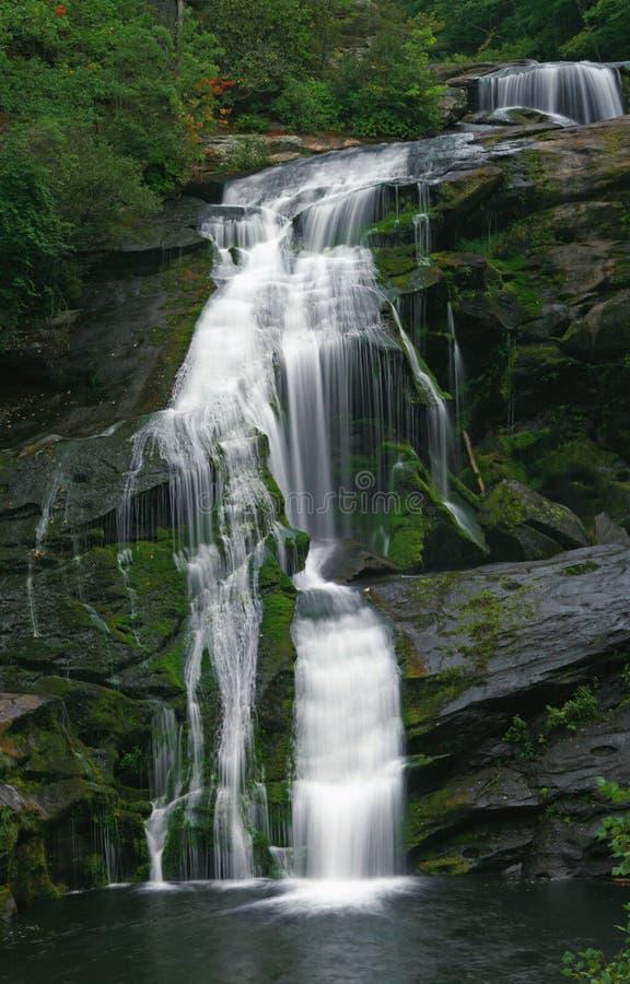 Kahle Fluss-Fälle lizenzfreies stockbild