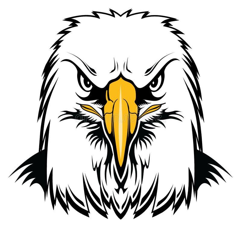 Kahler Eagle Head vektor abbildung