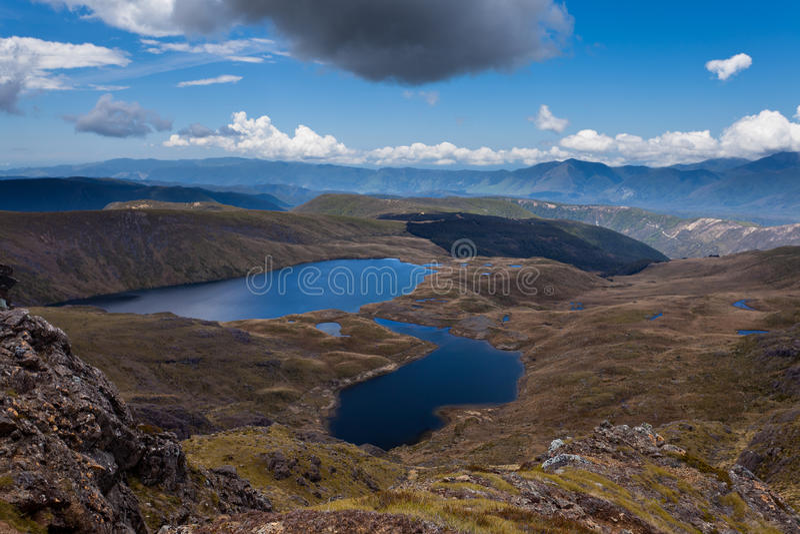 kahurangi jezior krajowy nz parka sylvester obrazy royalty free