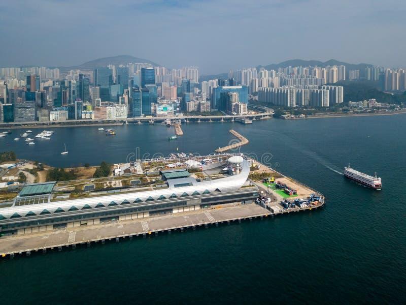 Kai达香港巡航终端  免版税库存图片