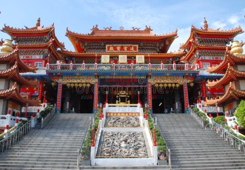 Kai Ming Tang Temple royalty-vrije stock afbeeldingen
