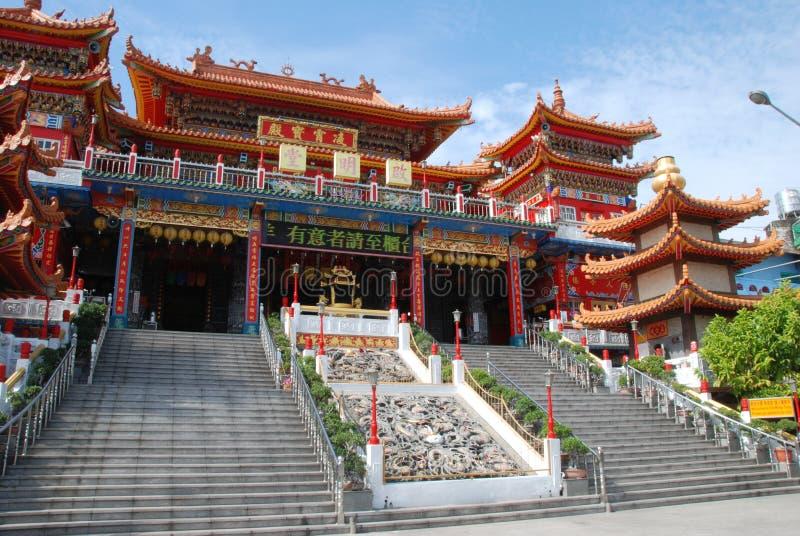 Kai Ming Tang Temple royalty-vrije stock foto's